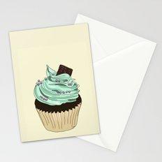 Spongy Cupcake Stationery Cards