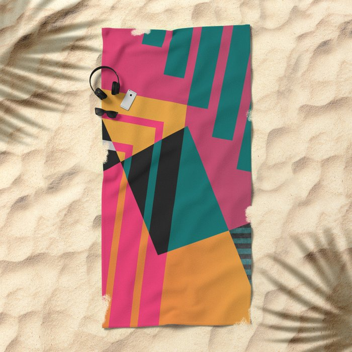 Geometric#23 Beach Towel