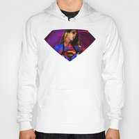 supergirl Hoodies featuring Supergirl by EarlyHuman