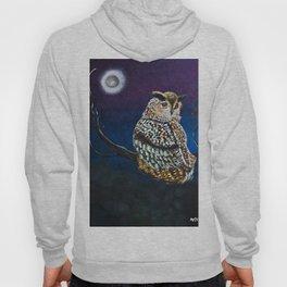 Owl Coat - Ugla Skyrta Hoody