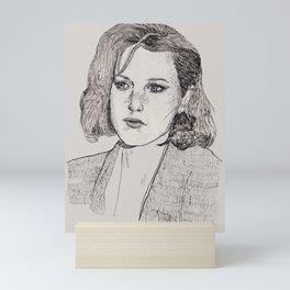 Scully Mini Art Print