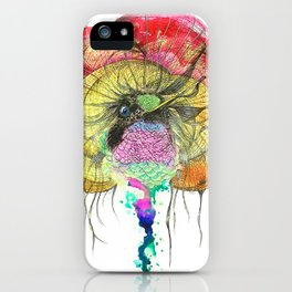 Heavy Thoughts Hummingbird iPhone Case