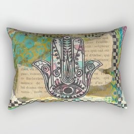 Butterflies Within Rectangular Pillow