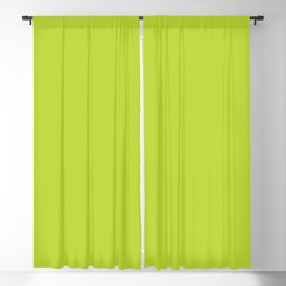 Bright Lime Green Blackout Curtain