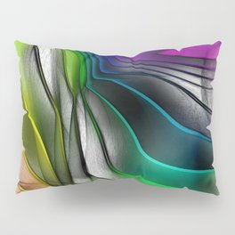 COLOR COVERGECE ABSTRACT Pillow Sham