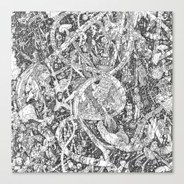 MMav Pillow 2. Canvas Print