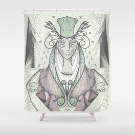 Desert Queen Shower Curtain