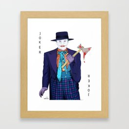 Jack the Joker Framed Art Print