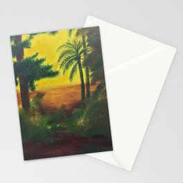 Day in the wetlands Stationery Cards