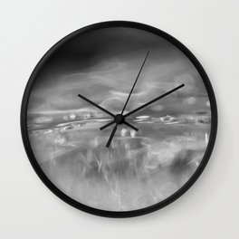 Iced water Wall Clock