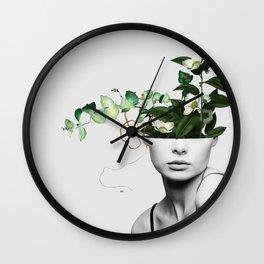 LADY FLOWERS XIII Wall Clock