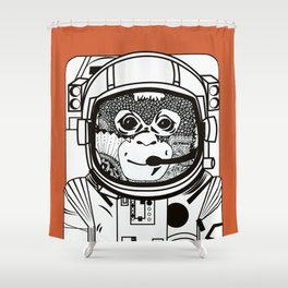 Searching for human empathy 2 Shower Curtain
