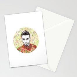 Flower Zayn Stationery Cards