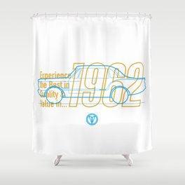 Valiant (Coupe) - Best in Value Shower Curtain