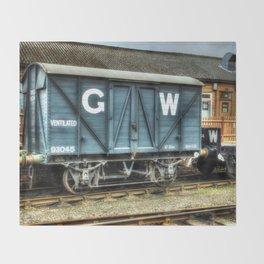 GWR Mink A Van Throw Blanket