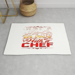 In love with a Chef Rug