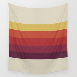 Retro Video Cassette Color Palette Wall Tapestry