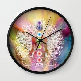 Chakra Balance Wall Clock
