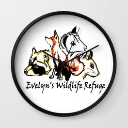 Wildlife Rescue Wall Clock