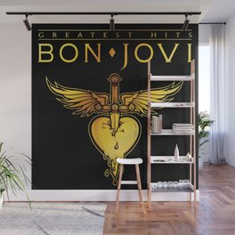 bon jovi greatest hits tour 2019 nitrogen Wall Mural