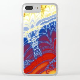 Fractal Arches Clear iPhone Case