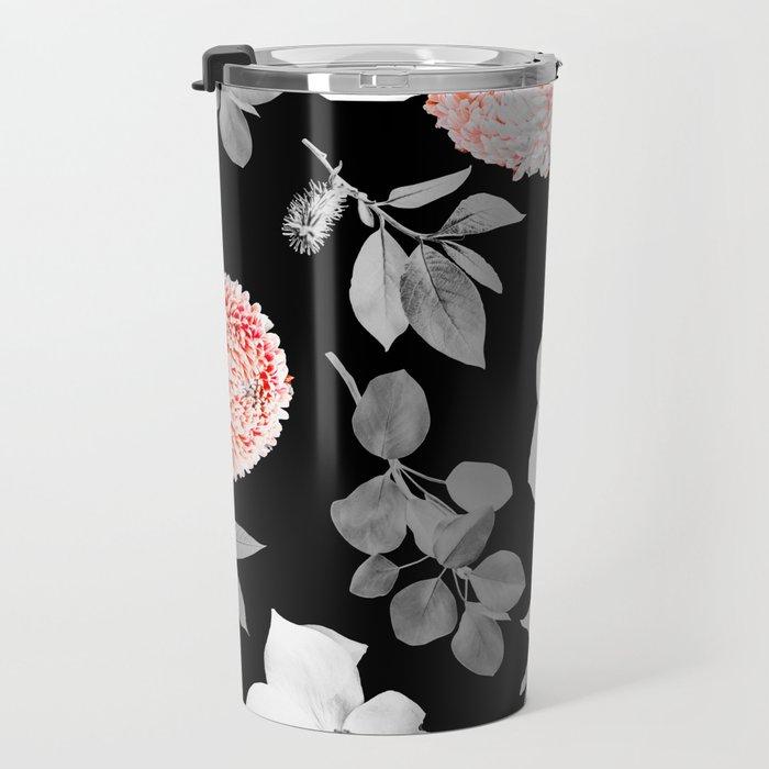 Night bloom - moonlit flame Travel Mug