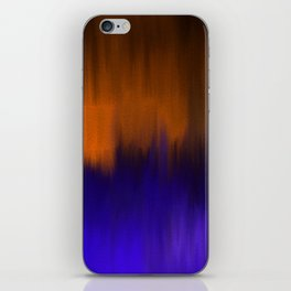 Landscape by night iPhone Skin