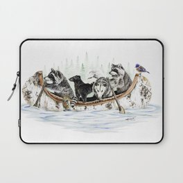 Critter Canoe Laptop Sleeve