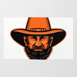 General Ulysses Grant Mascot Rug