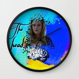 Clarke: the head Wall Clock