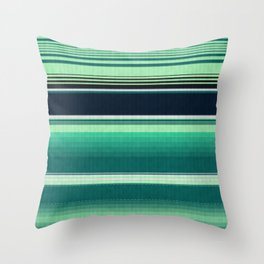 Mexican serape #2 Throw Pillow