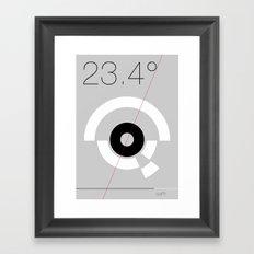 EARTH MK2 Framed Art Print