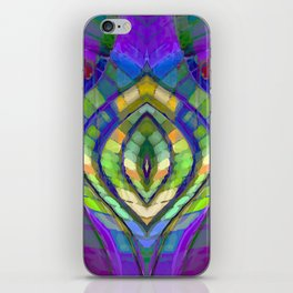 Kaleidoscopic Muse iPhone Skin