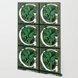 Celtic Nouveau Frog Letter G 2018 Wallpaper