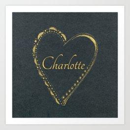 use blackheart Art Print