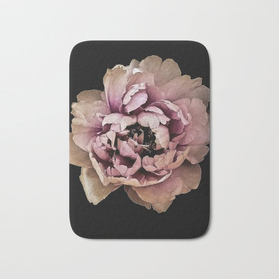 Lush Peony, Nobility And Honour Bath Mat