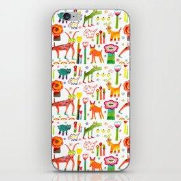 Animal Garden iPhone Skin