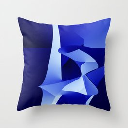 Do not leave me alone in front of the sea Throw Pillow