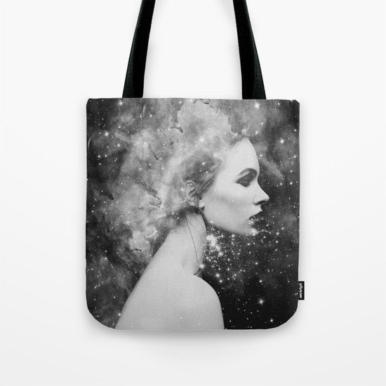 Head in the stars Tote Bag
