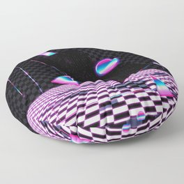 Retro Room Floor Pillow