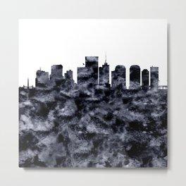 Richmond Skyline Virginia Metal Print
