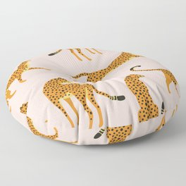 Leopard pattern Floor Pillow