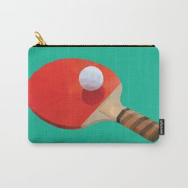 Ping Pong Paddle polygon art Carry-All Pouch
