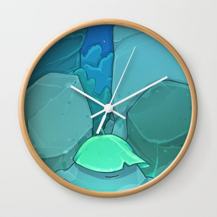 Weightless Wall Clock