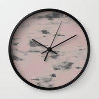 fog Wall Clocks featuring Fog by Georgiana Paraschiv