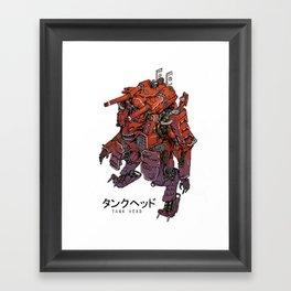 TankHead Mk II Framed Art Print