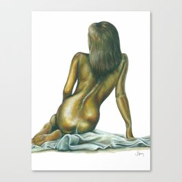 Female figure #1 Canvas Print