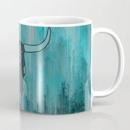 Steer Skull Mandala Coffee Mug