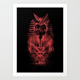 Rise of the Pharaoh Art Print