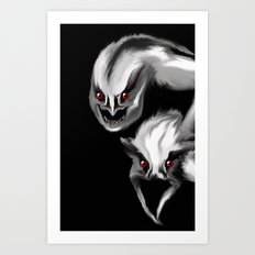 Dark Dream Givers Art Print